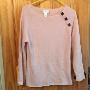 Soft Pink cashmere sweater